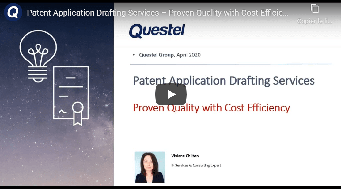 patent application drafting services video